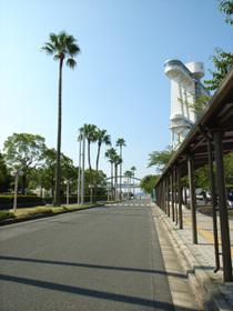 名古屋港ガーデン埠頭前