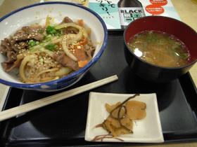 御殿場SA松坂牛ステーキ丼