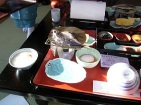 福寿荘の朝食
