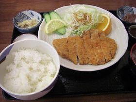 千代幻豚 ロースカツ定食