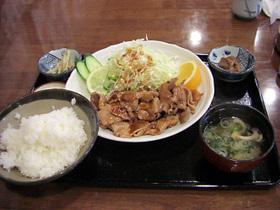 千代幻豚 焼き肉定食