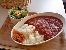 モンポップ 挽肉と野菜のラタトウィユカレー
