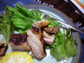 鶏肉のさっぱり網焼きアップ