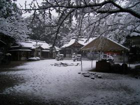 白山神社(07年1月7日)