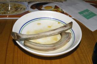 スペアリブ(食後)