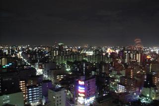 雲竜ビルからの夜景