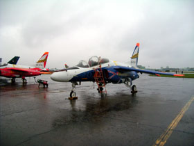 50周年記念塗装T-4青