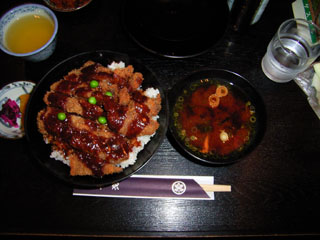牛銀 ビーフカツ丼