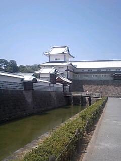 現在位置(金沢城)