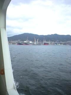 西へ旅行(その21:呉港おさんぽクルーズ)