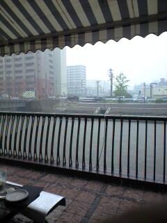 西へ旅行(番外編:大雨で予定変更)