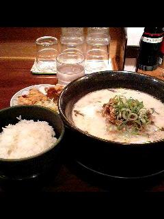ラーメン四天王の刻み葱チャーシュー麺セット